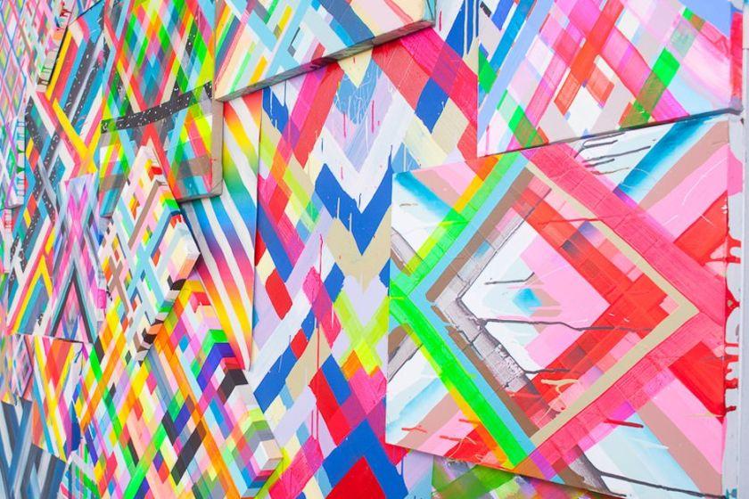 Maya Hayuk Installation 2012
