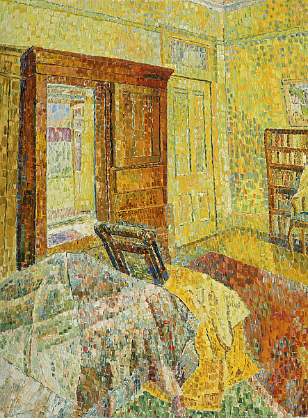 Interior in Yellow, oil, 1964