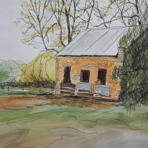 Tea Garden ruin (detail)